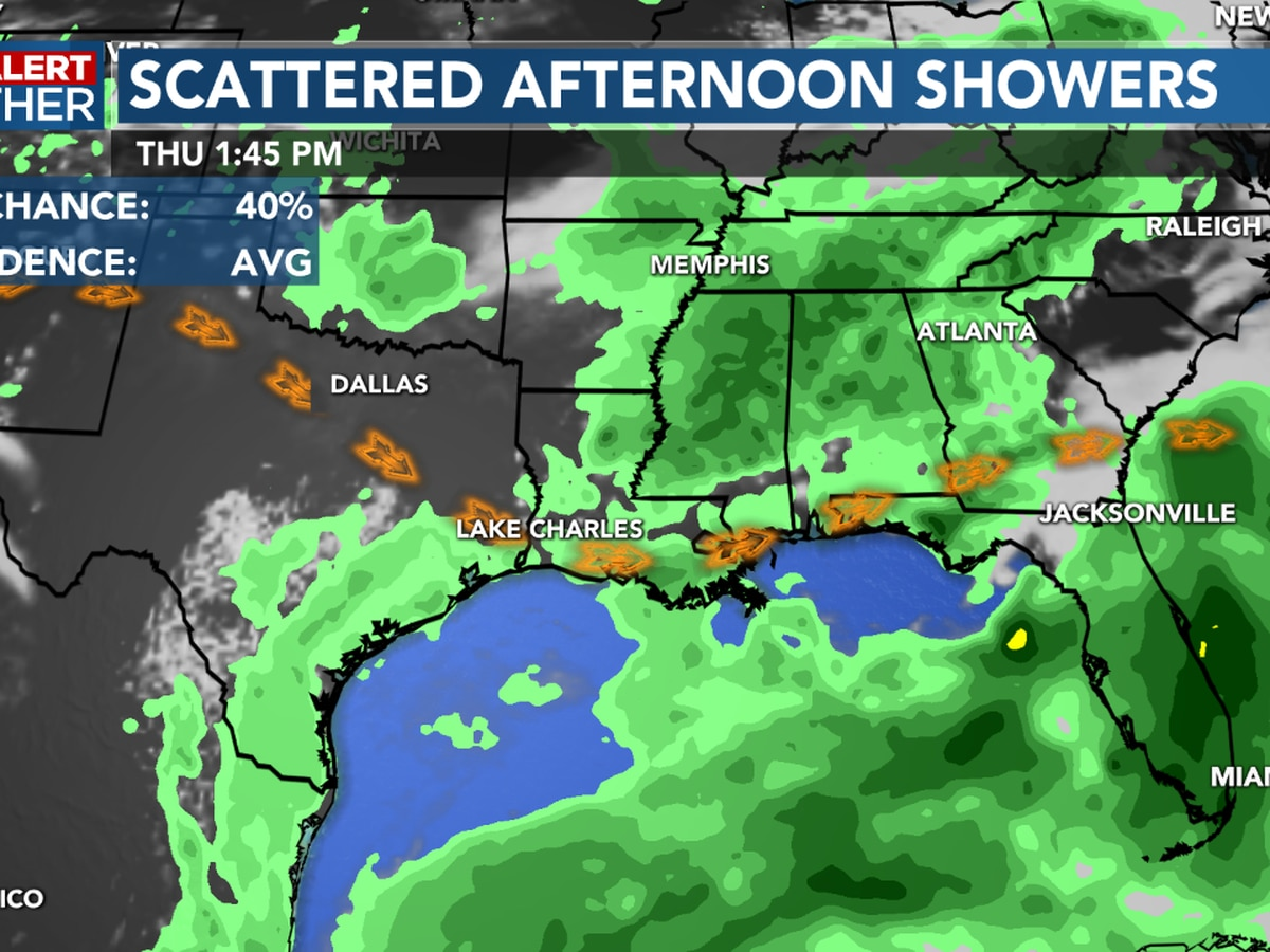 FIRST ALERT FORECAST: Typical summer weather for now, but all eyes are on Tropical Storm Cristobal