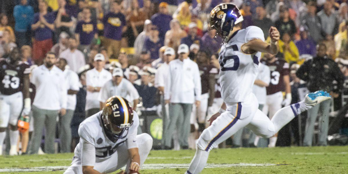 Defense, Cole Tracy lead LSU to 19-3 homecoming win over MSU
