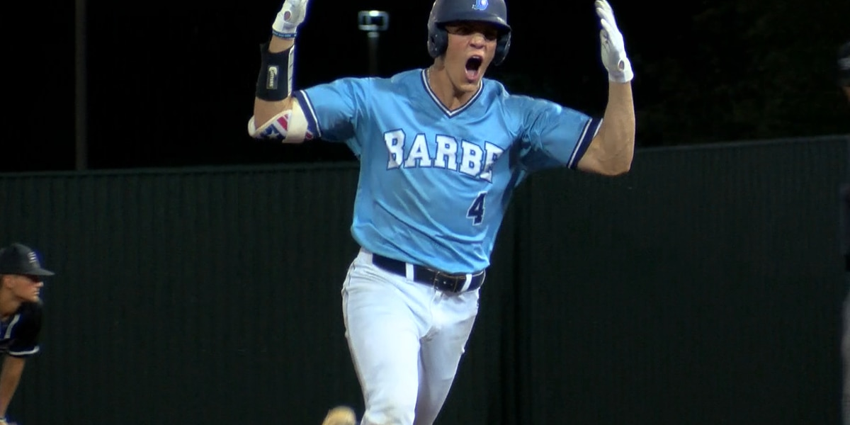 Barbe's Brody Drost named Gatorade Louisiana Baseball Player of the Year