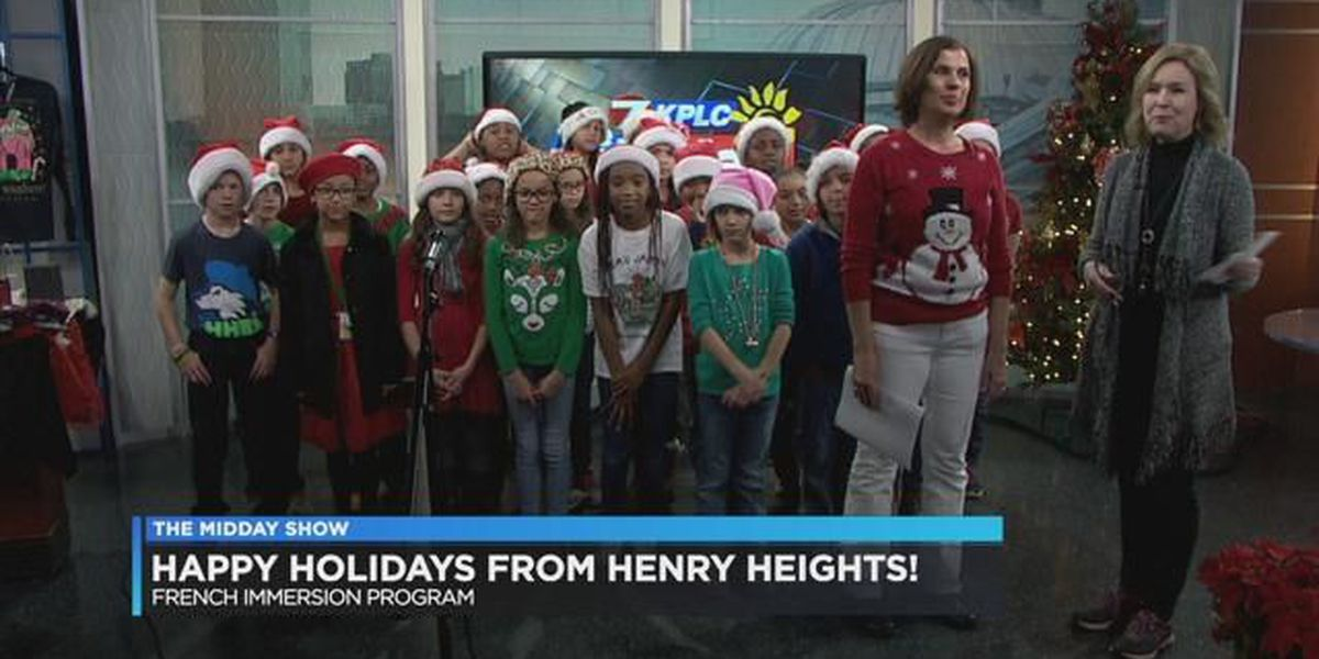 HEAR THEM SING: Henry Heights French Immersion program sings Christmas carols
