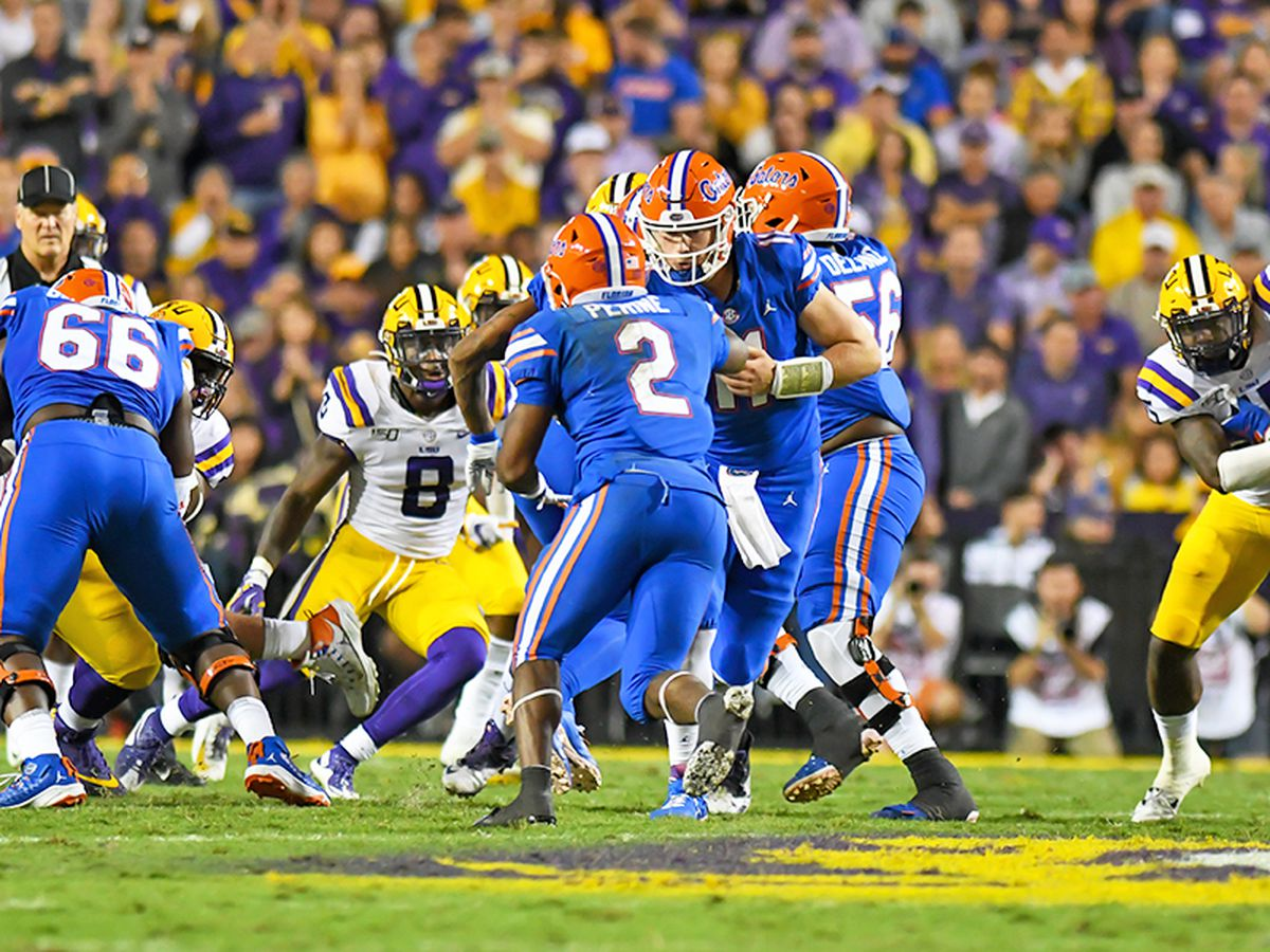 LSU vs. No. 10 Florida postponed due to COVID-19 outbreak in Gators football program