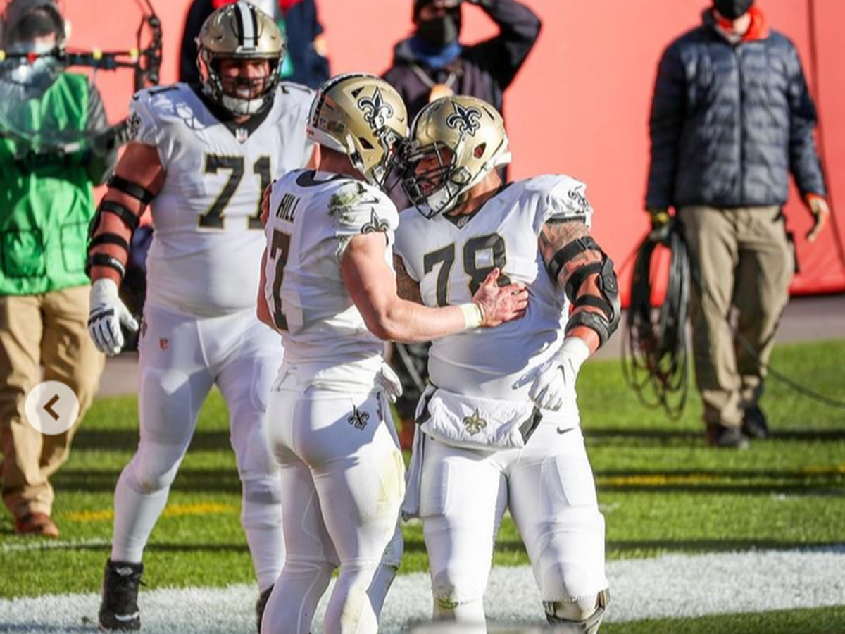 Saints extend win streak to 8 games with a blowout win over the QB-less Broncos