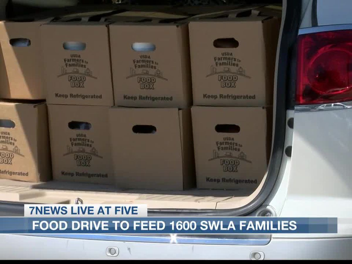 Food drive hosted by SWLA Center for Health Services to feed 1600 SWLA families