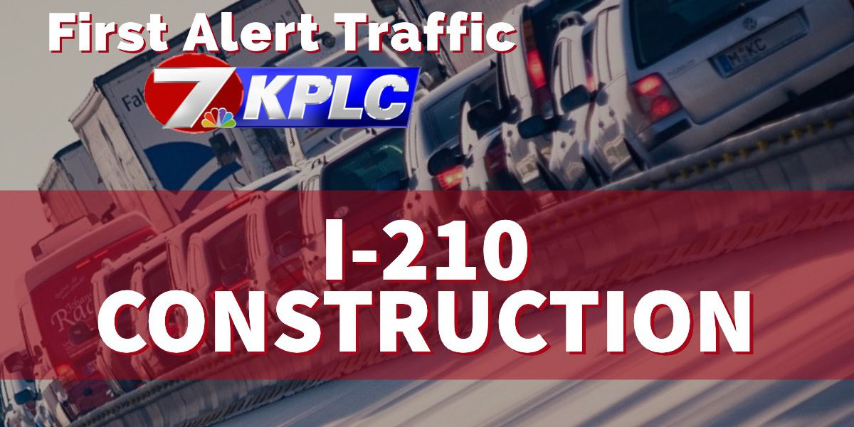 I-210 bridge project nighttime closures for April 8 to April 11