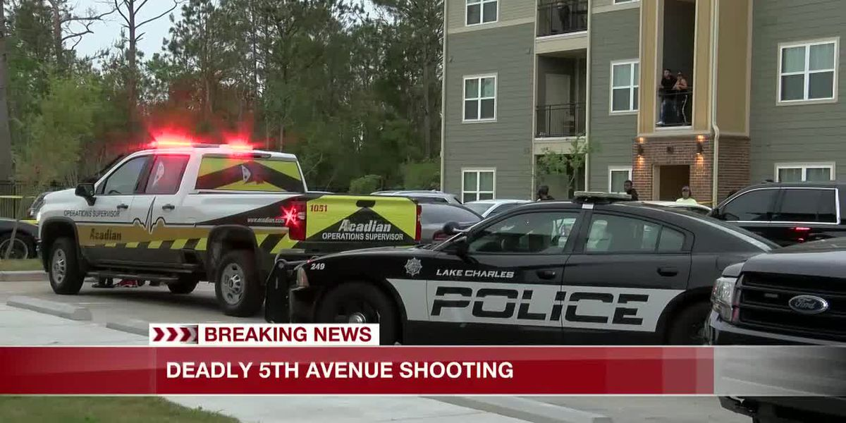 Lake Charles police responded to shooting on 5th Avenue
