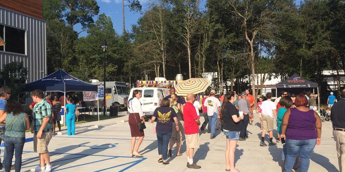 Food truck 'invasion' at Crying Eagle Brewing was huge success
