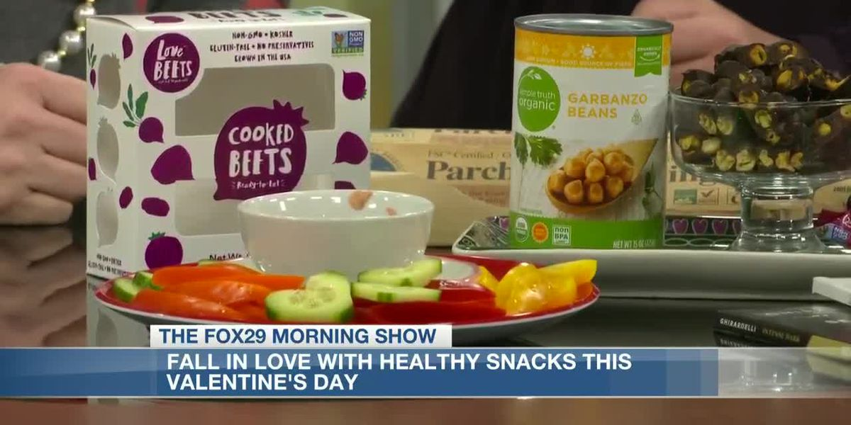 Healthy snack options made with love