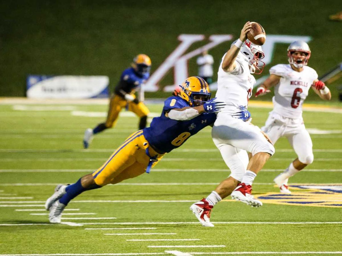 NFL scouts taking notice of McNeese linebacker BJ Blunt