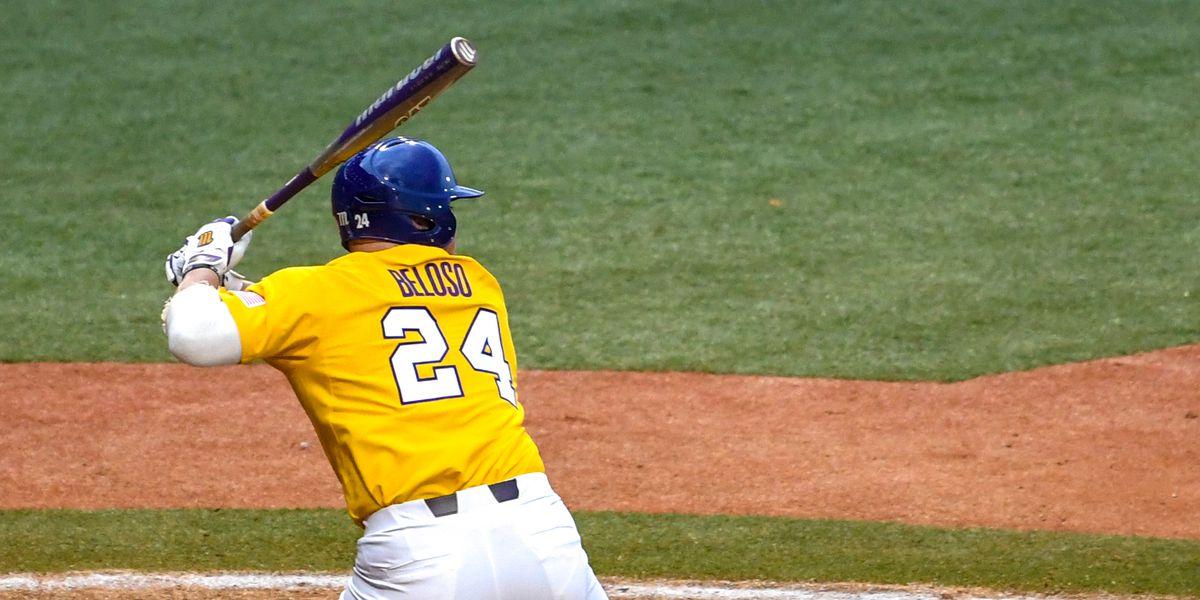 No. 9 LSU baseball splits doubleheader with Cal, wins series 2-1