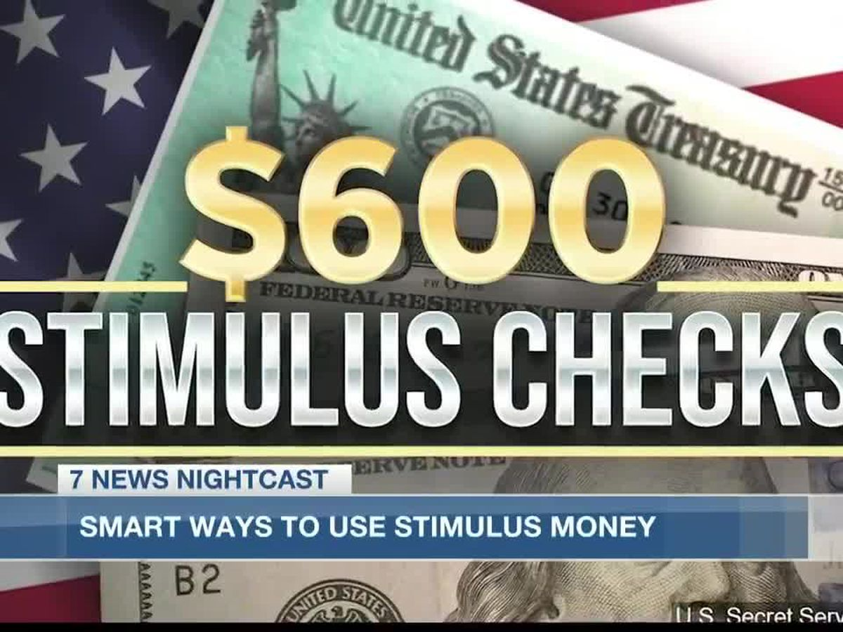 Smart ways to use stimulus checks