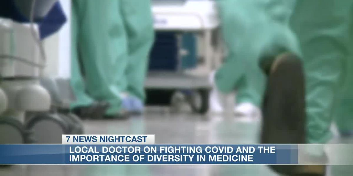 Local doctor speaks on fighting the COVID pandemic and the importance of diversity in medicine