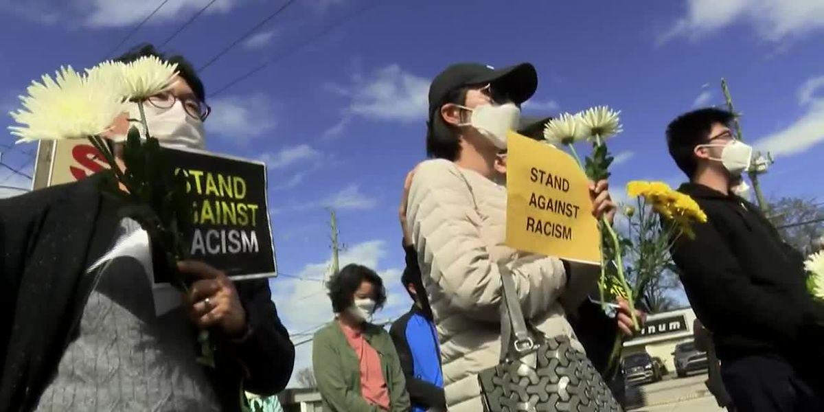 GRAPHIC: Study says hate crimes against Asian Americans up 164% from last year