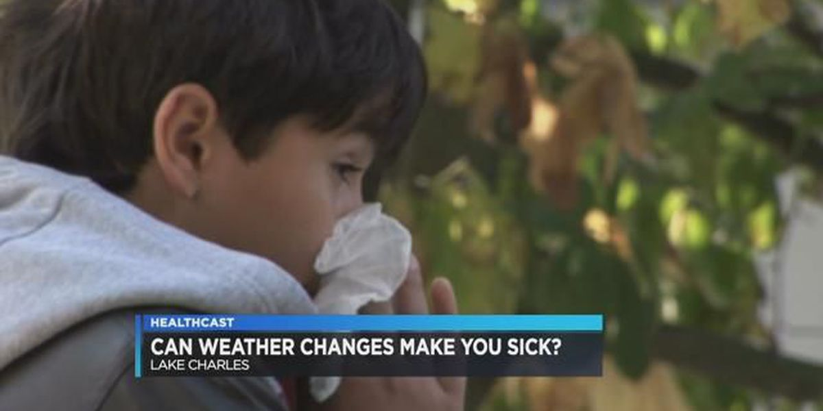 Can weather changes make you sick?