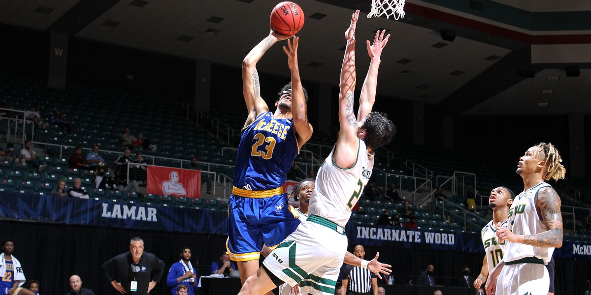 McNeese's rally falls short in 71-68 loss to Southeastern in SLC Tourney opener