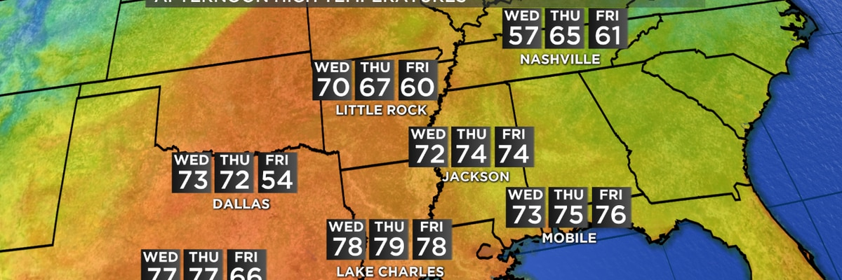 FIRST ALERT FORECAST: Coat needed briefly this morning; then near 80 later this week