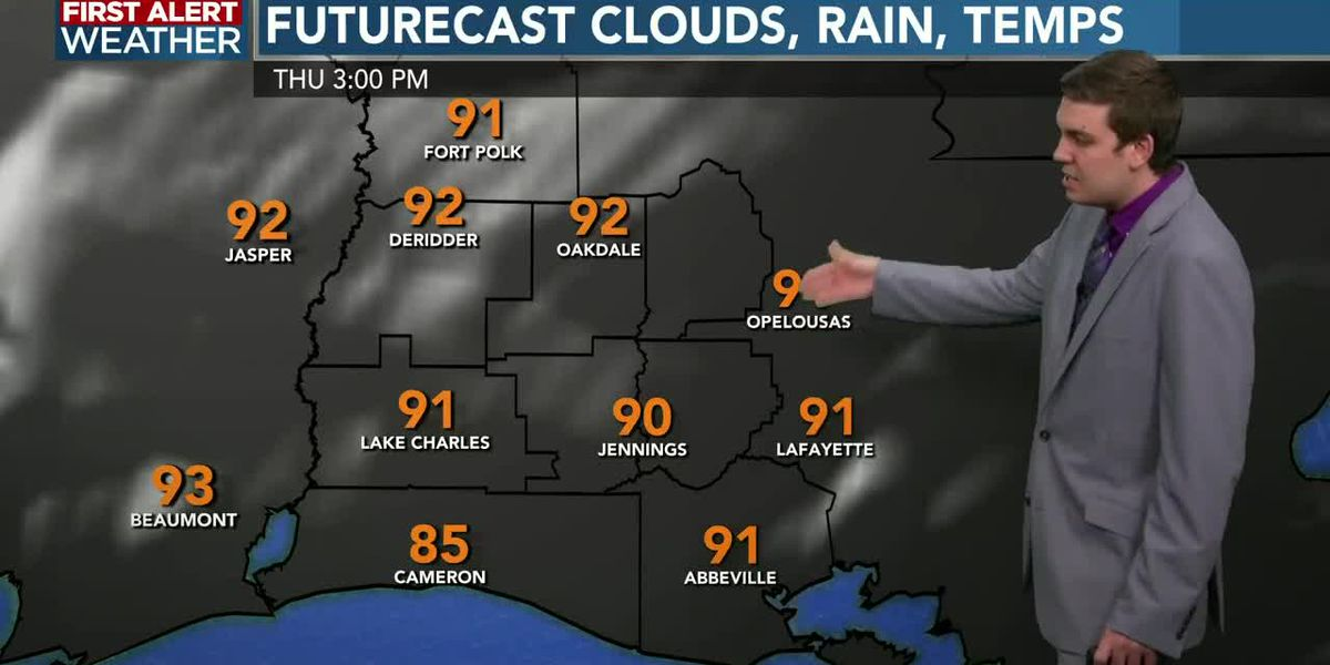 FIRST ALERT FORECAST: KPLC 7News at Noon - 12 p.m. - July 9, 2020