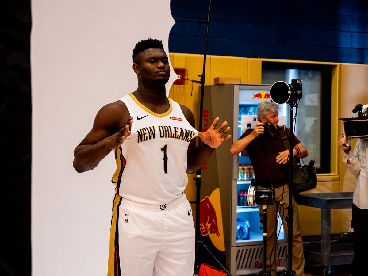Zion Williamson ready to begin rookie campaign with Pelicans