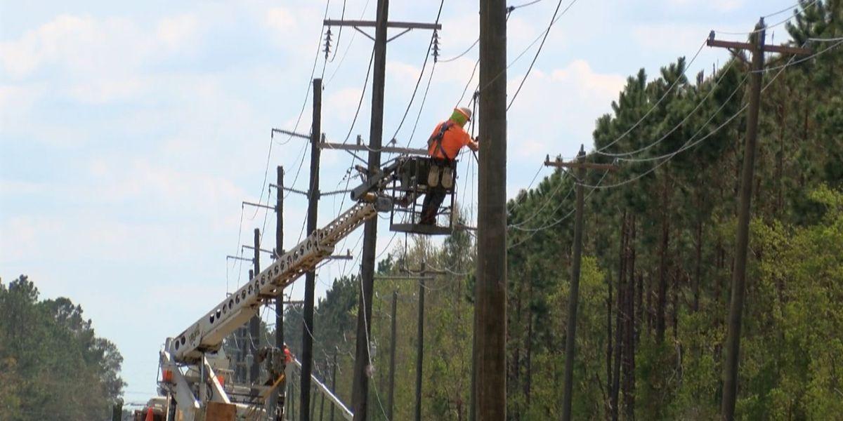 Beauregard Electric reaches 50 percent restoration mark, answers customers questions