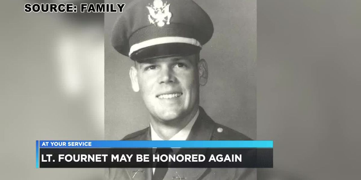First Lieutenant Douglas Fournet, may be honored again if legislation passes