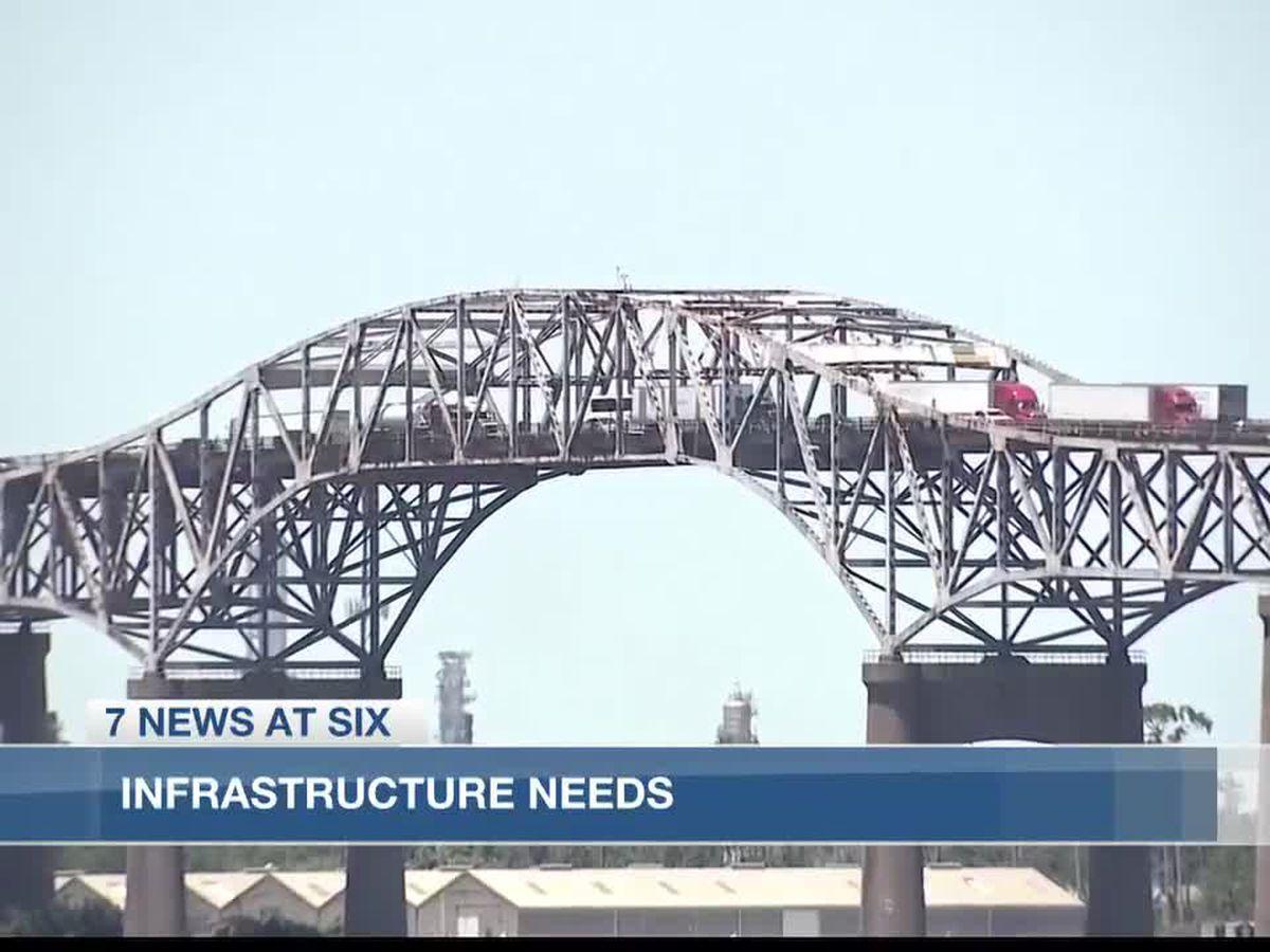 Biden visit highlights infrastructure needs in Southwest Louisiana
