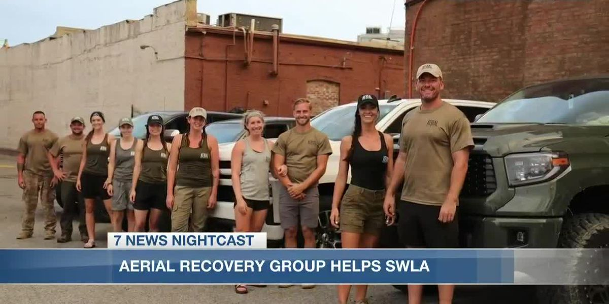 Aerial Recovery Group brings relief to Southwest Louisiana