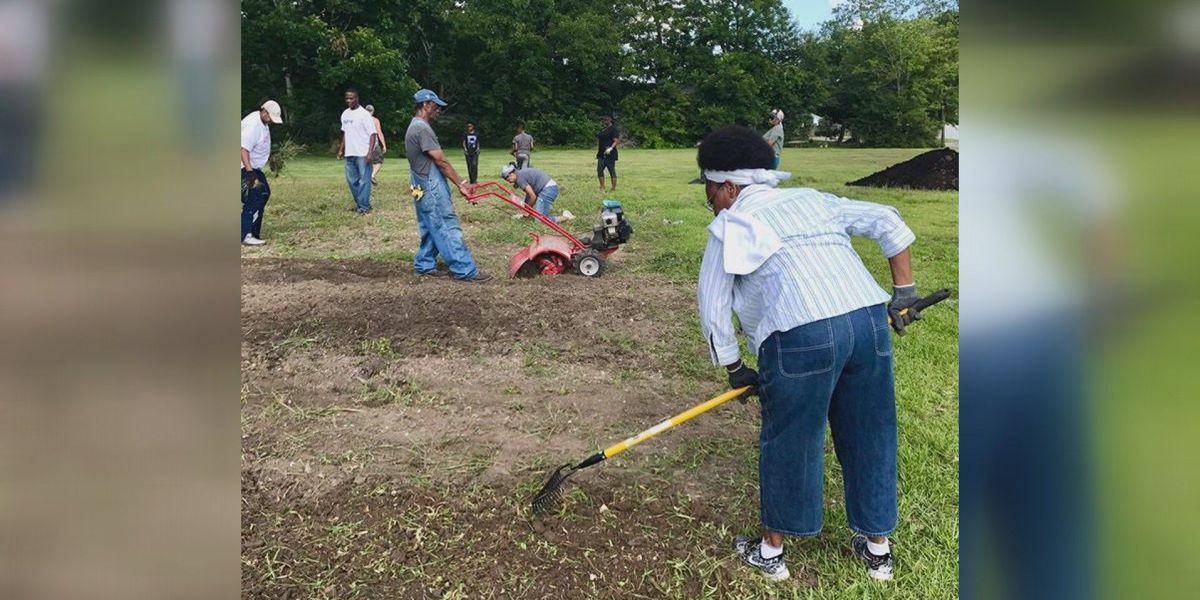 Community garden in the works in North Lake Charles