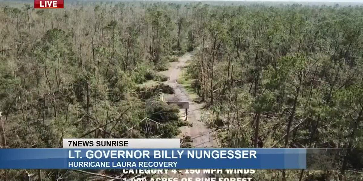 Sunrise Interview: Lt. Governor Billy Nungesser - Sept. 22, 2020