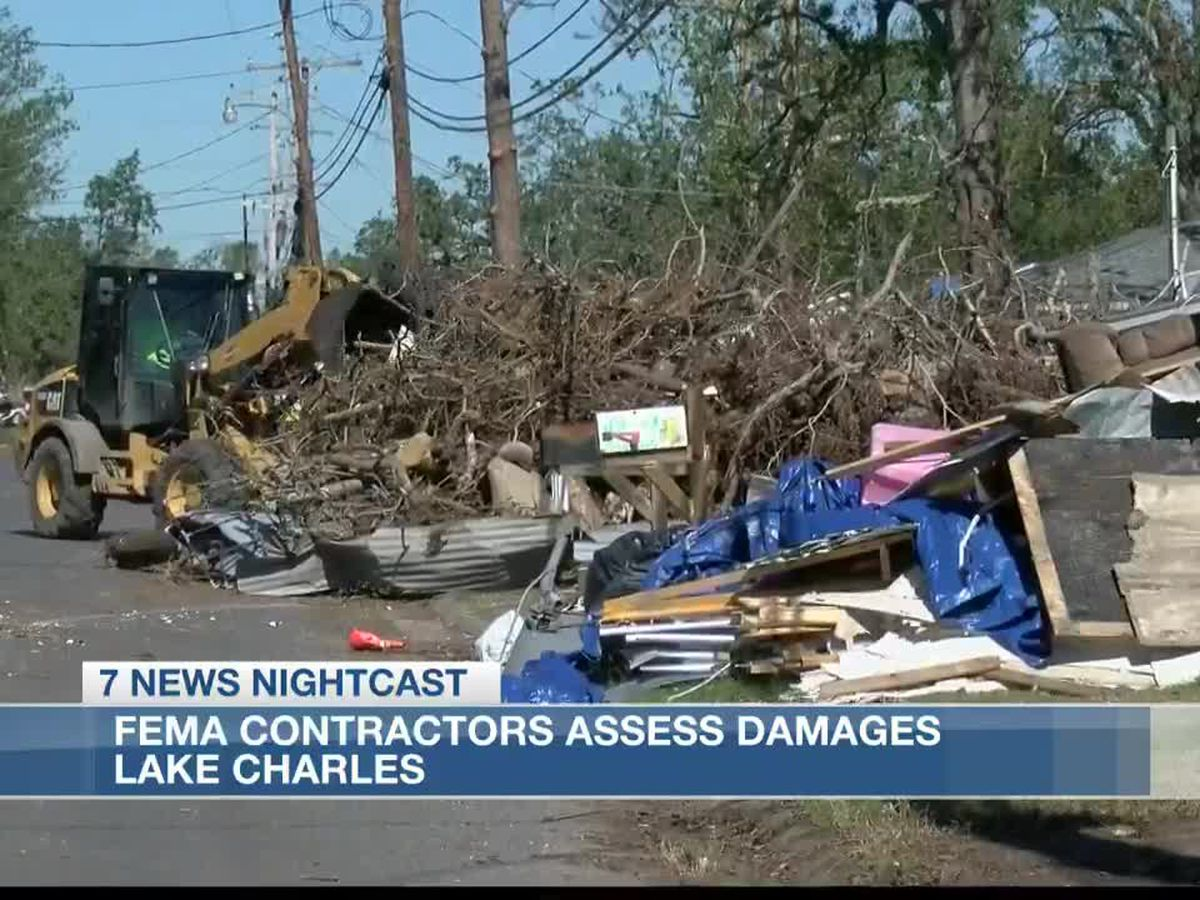 FEMA begins substantial damage assessments in Lake Charles