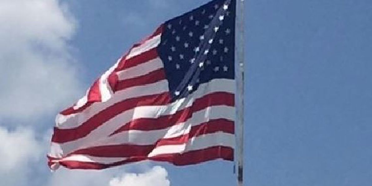 Not enough stars? City says it was sent defective flag