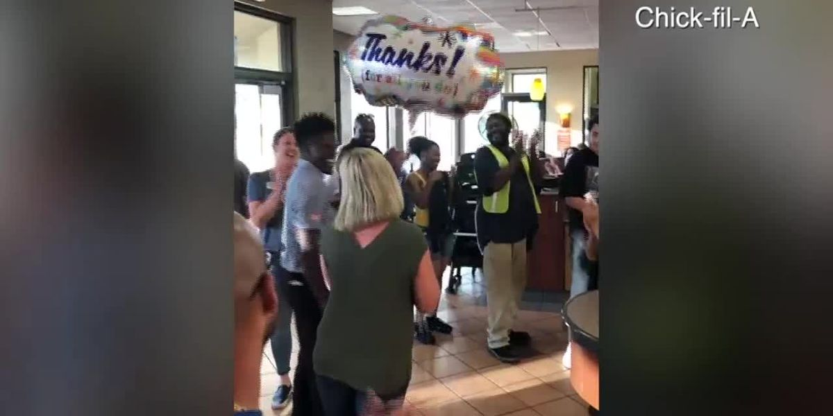 Chick-fil-A manager deemed hero after CPR helps save unconscious man's life