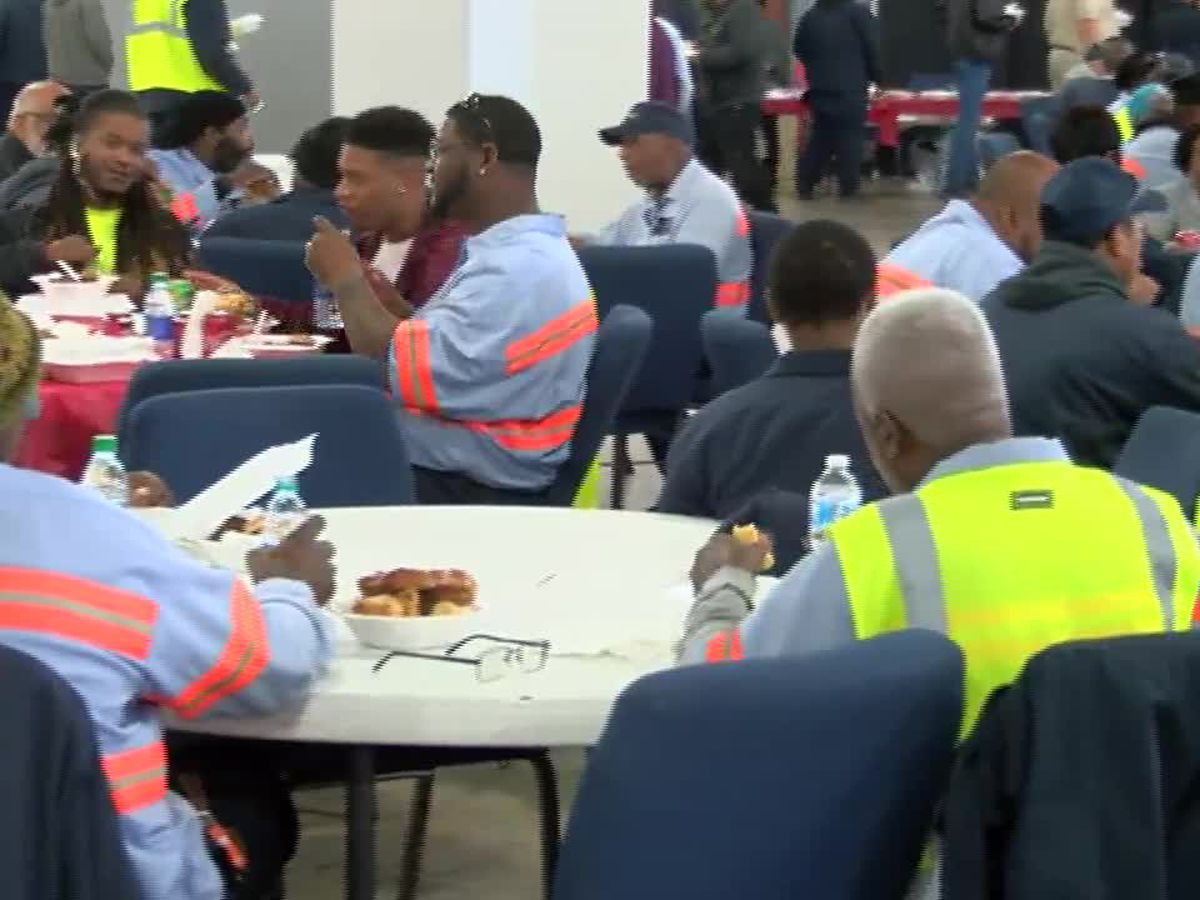 Lake Charles city employees recognized for service at luncheon