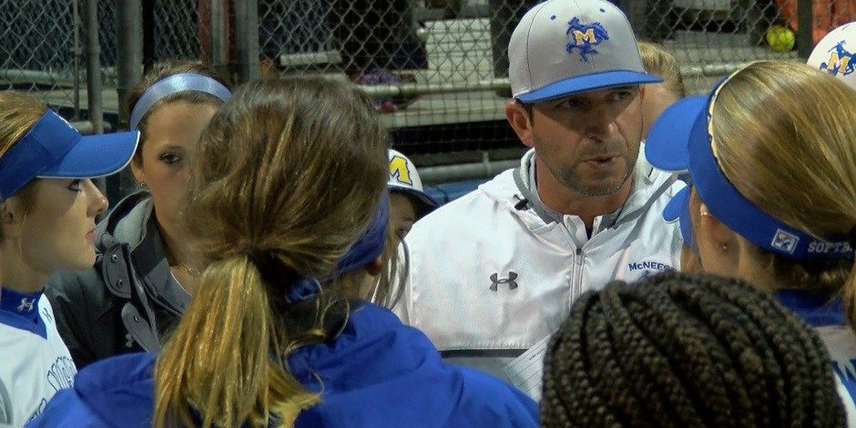 McNeese and softball coach James Landreneau agree on new three-year contract