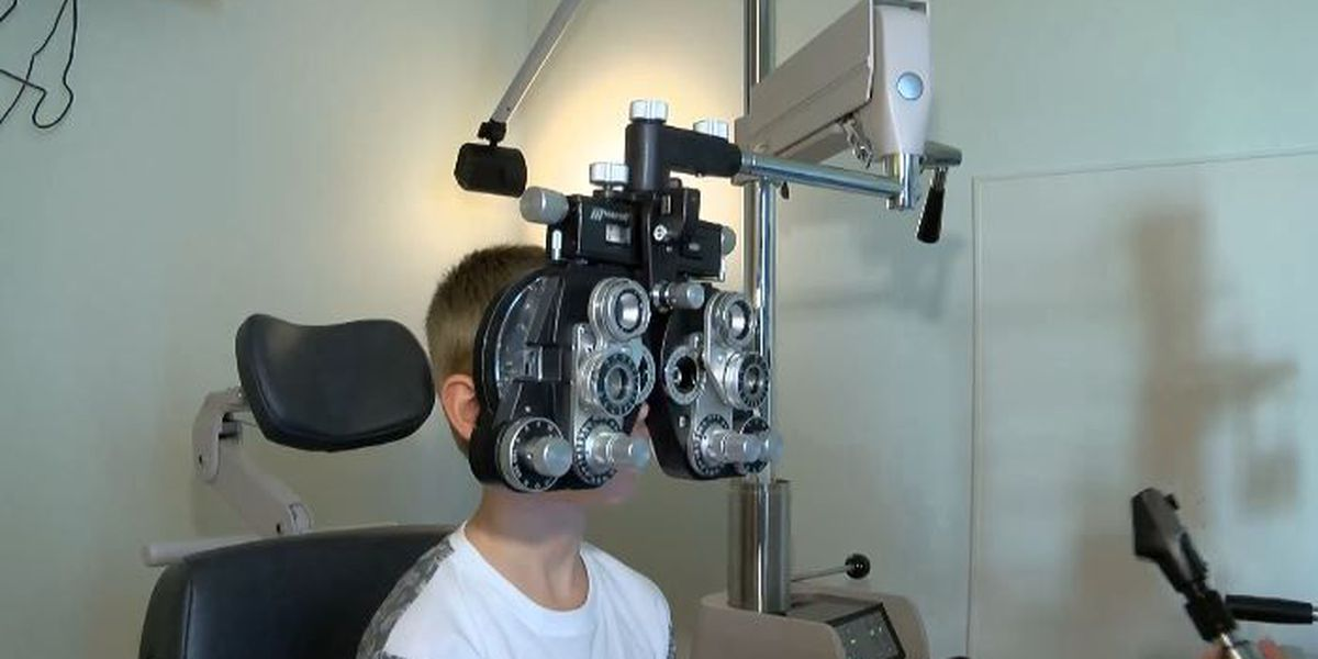 Back-to-school eye exams are important for school-aged kids