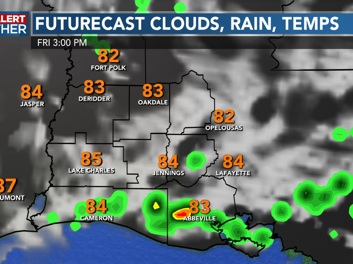 FIRST ALERT FORECAST: Another stormy afternoon, but we do see a drier and warmer weekend