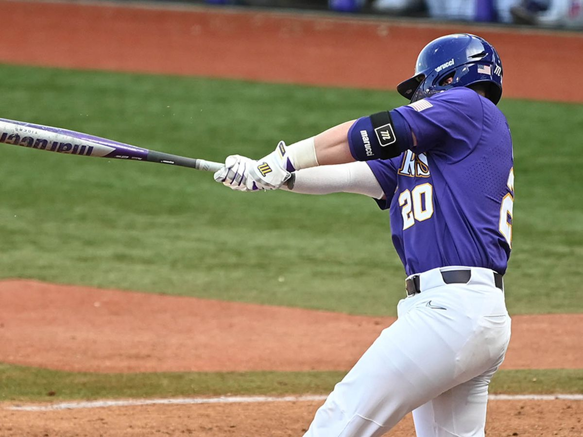 No. 11 LSU gets past Indiana in Game 2 to win weekend series