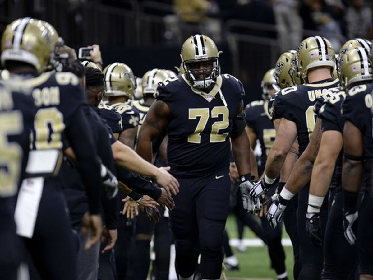 Saints left tackle Terron Armstead will play Sunday