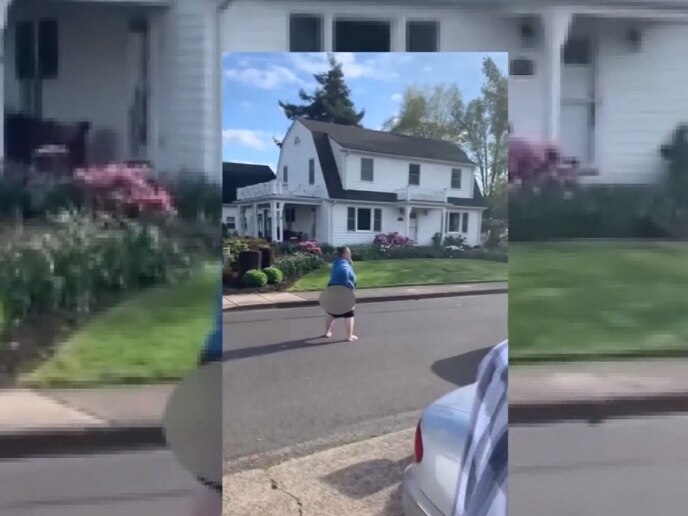 Woman shows her behind, unleashes racist tirade on African American family on Easter Sunday