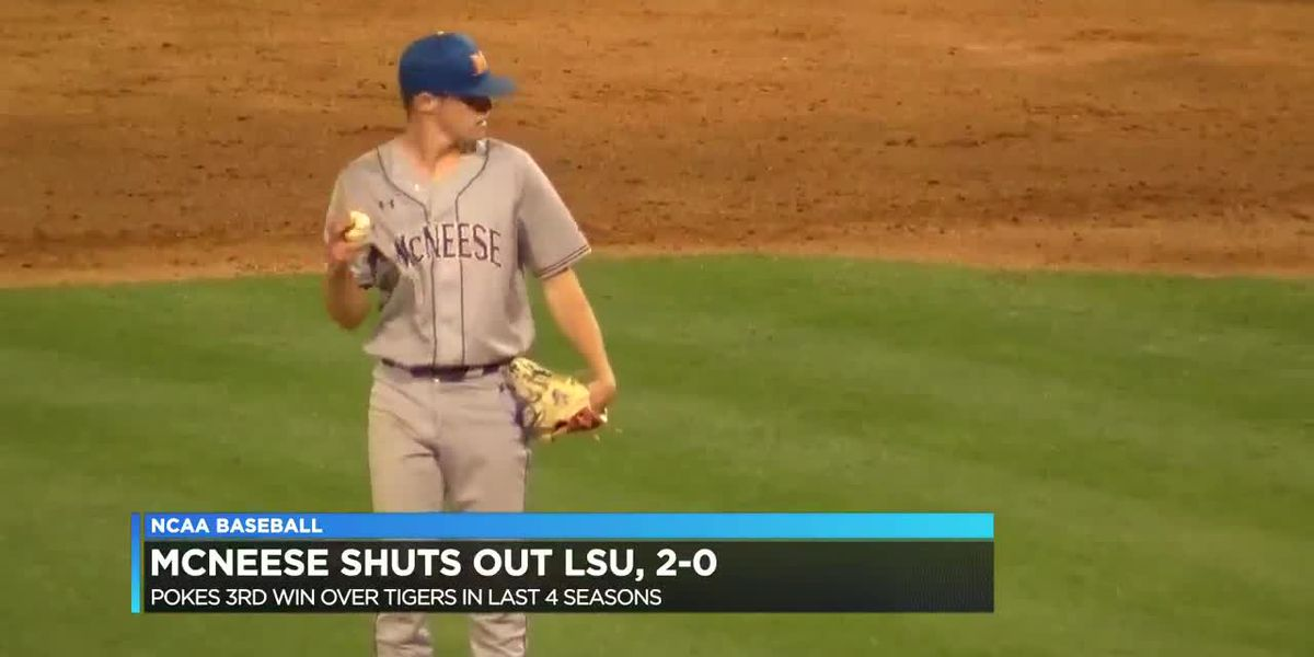 Payne shines in McNeese's 2-0 shut out win over No. 17 LSU