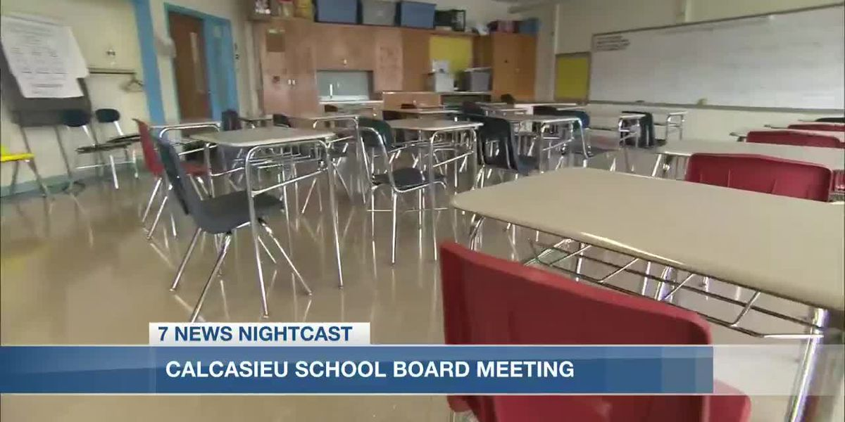 Calcasieu School Board meets to discuss extending paid sick leave, uniform requirements