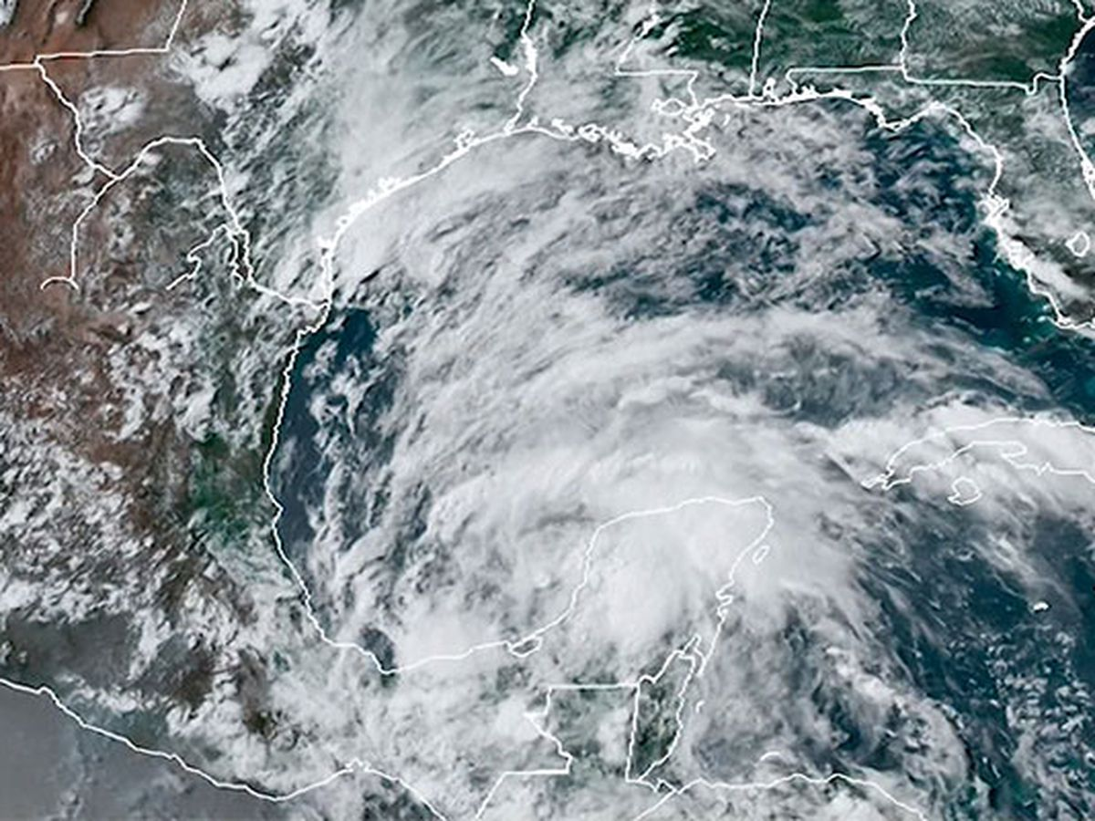 Depression forms in Gulf, heavy rain threat for south Mexico
