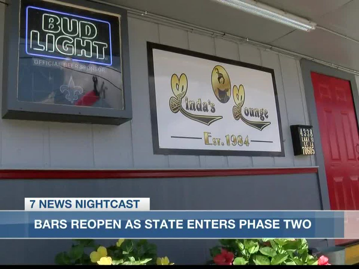 Linda's Lounge in Lake Charles prepares for phase two reopening