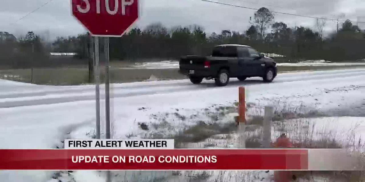 DOTD works to clear icy roads