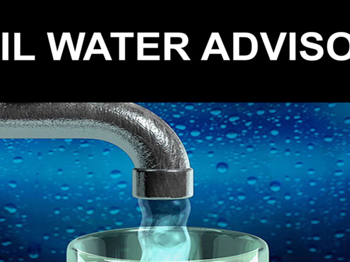 Boil advisory issued for parts of DeRidder