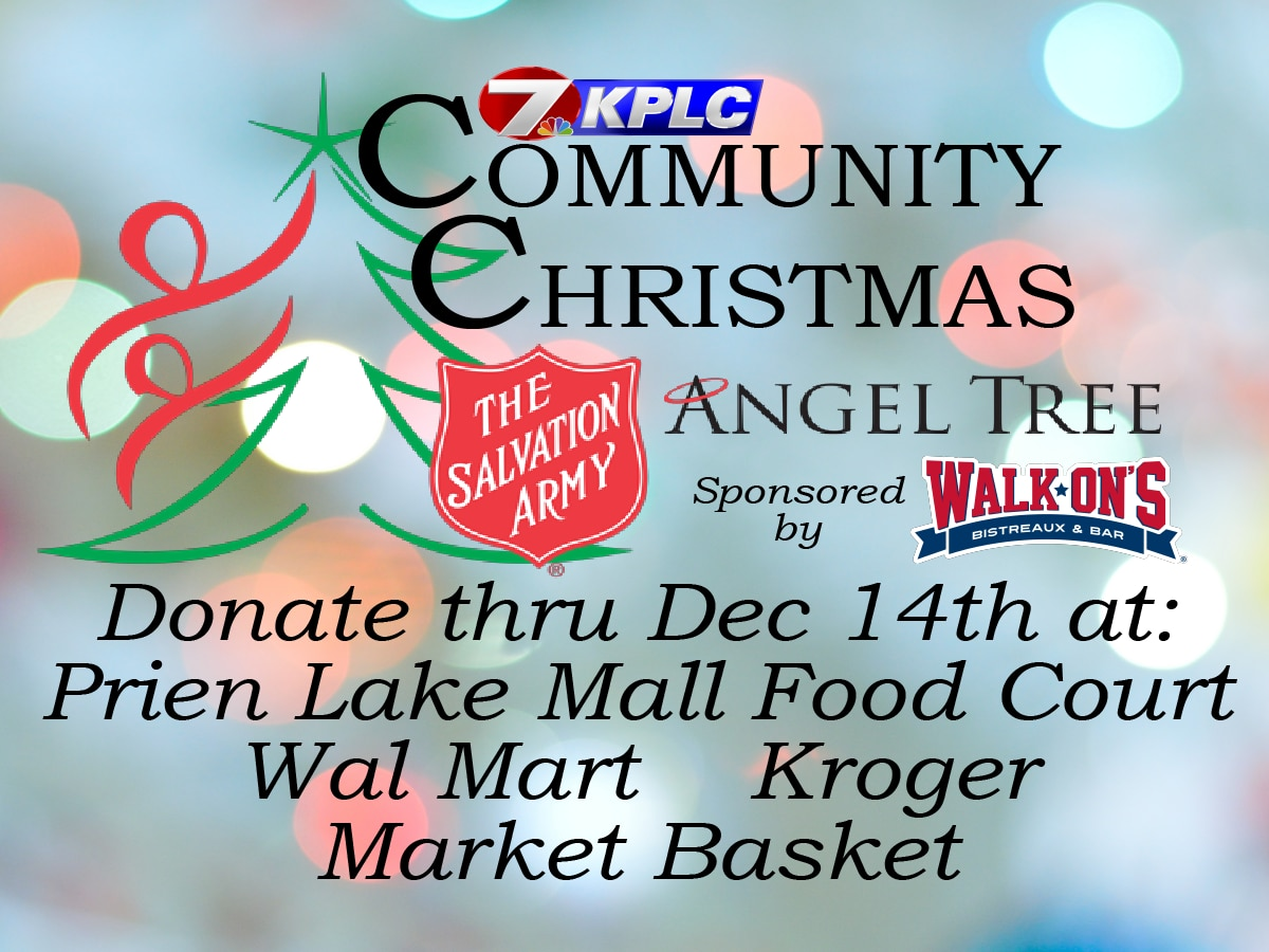 KPLC's Community Christmas and the Salvation Army Angel Tree