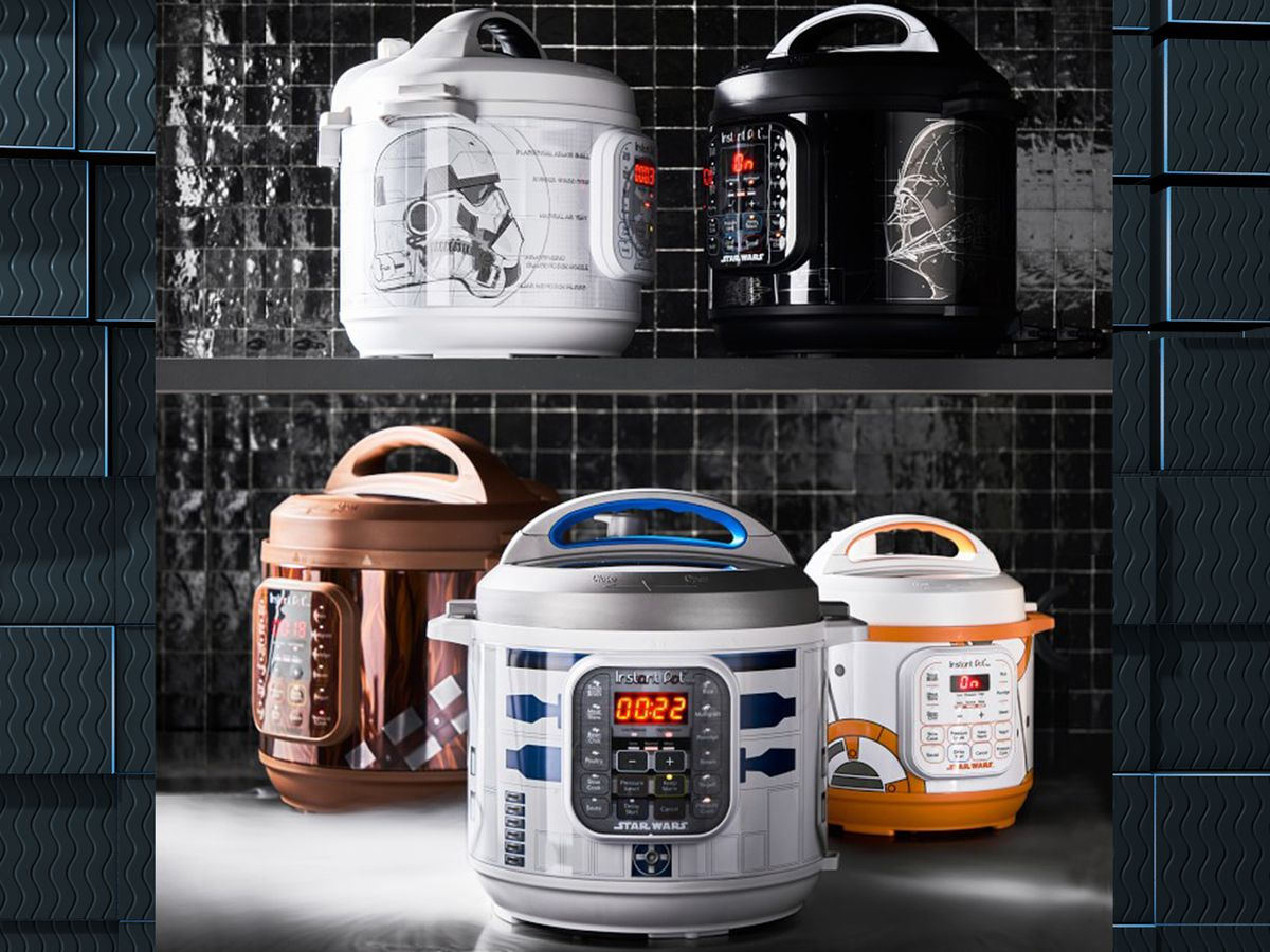 Instant Pot rolls out line of Stars Wars-themed pressure cookers