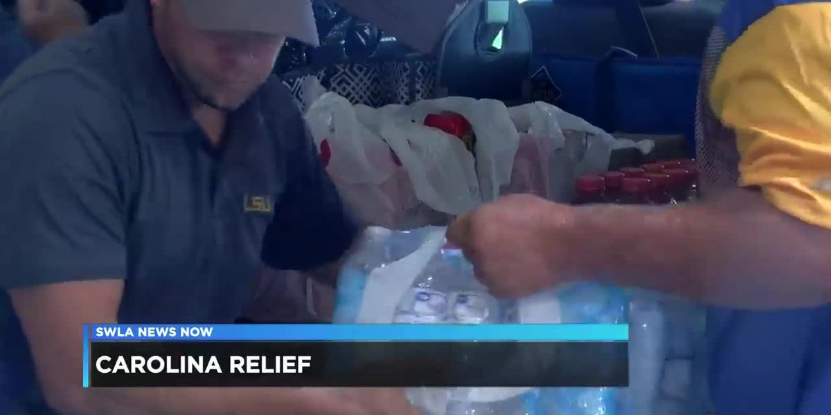 Cajun Navy donating supplies