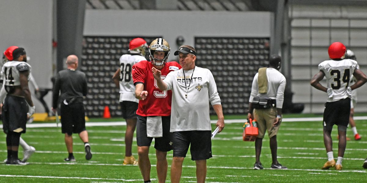 Sean Payton using calculated approach to practice after day off