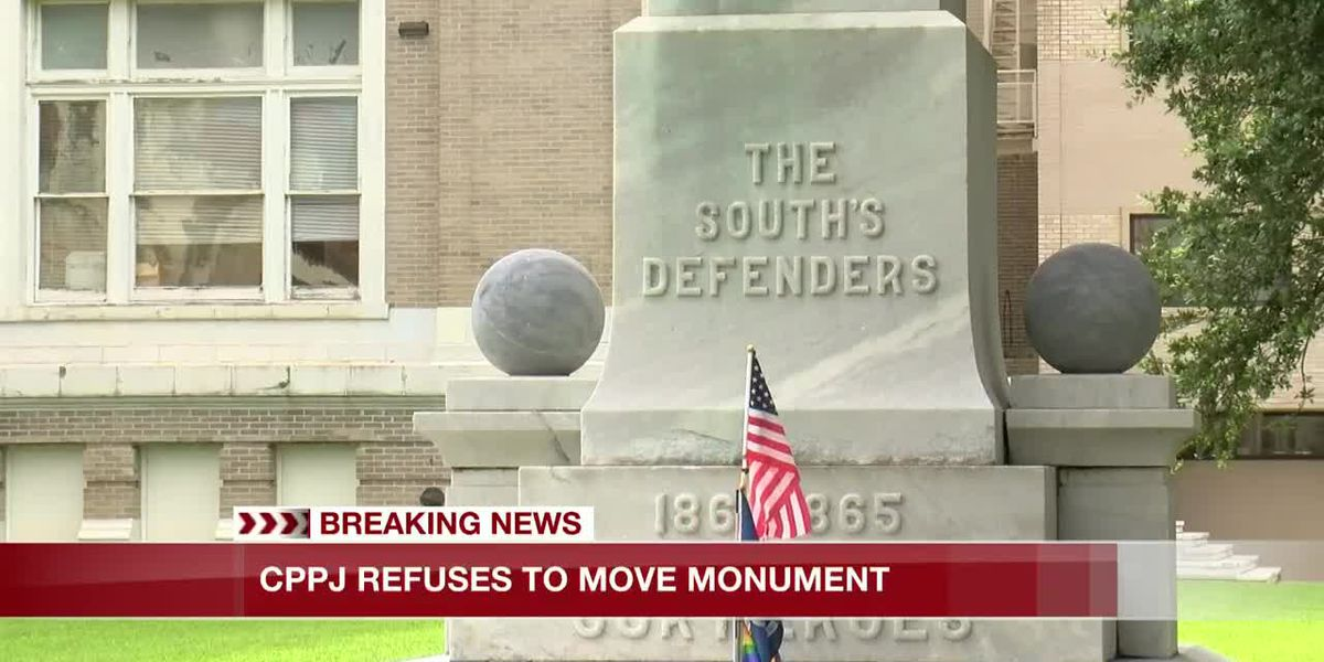 CPPJ refuses to move monument