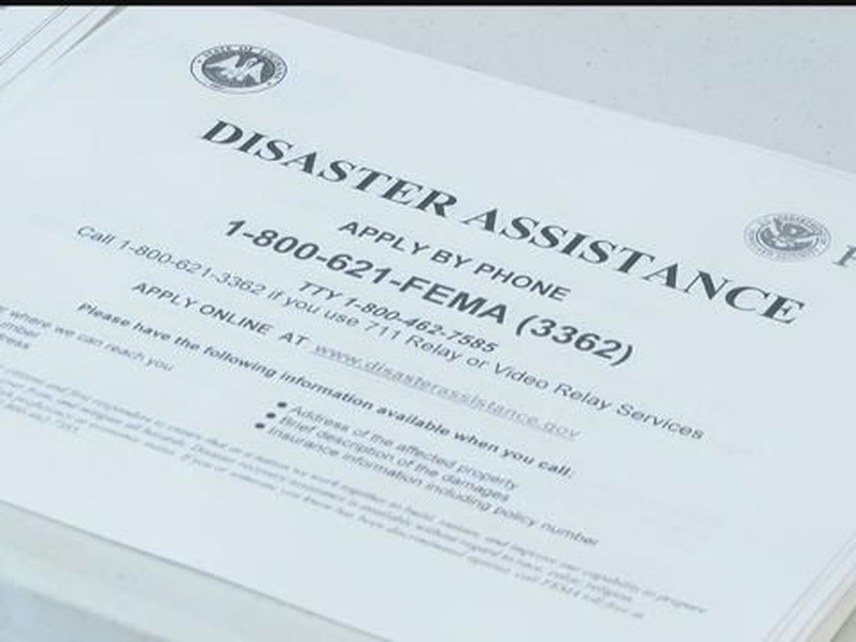 What to expect when registering for FEMA assistance for Hurricane Delta