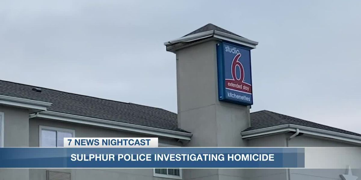 Two arrested for murder after man found dead in Sulphur hotel